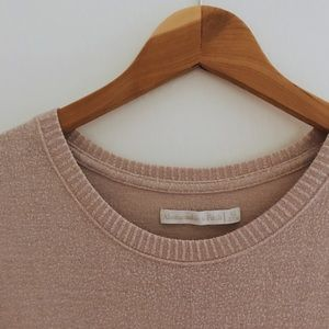 ABERCROMBIE & FITCH PINK SWEATER